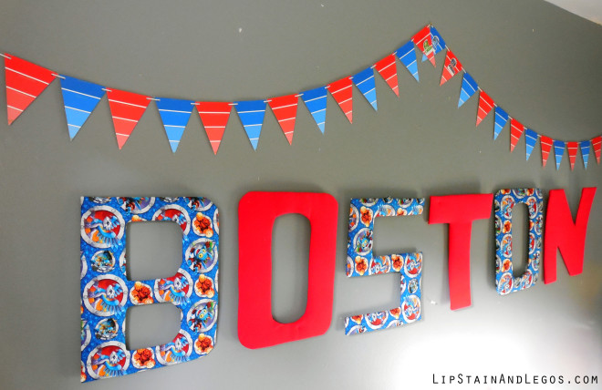DIY Paint Chip Garland